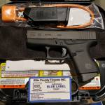 Glock 43 9mm blue label