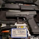 Glock 22 gen4 black 9mm blue label