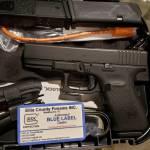 Glock 23 gen4 GNS black 40s&w blue label