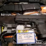 Glock 30 gen4 black 45acp blue label