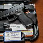 Glock 45 gen5 black GNS 9mm blue label
