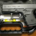 Glock 26 gen4 black 9mm blue label