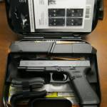Glock 34 gen5 MOS 9mm blue label