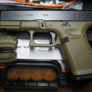 Glock 19 gen5 FDE 9mm