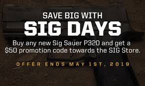 Sig days promo