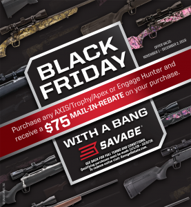 Savage AXIS 75rebate 12-2-19