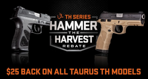 Taurus TH rebates 12-31-19