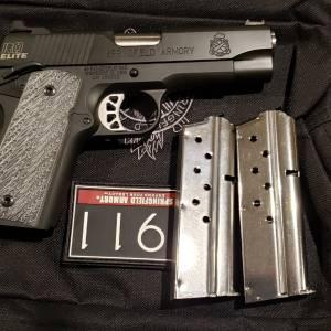 "Springfield 1911 RO LW Compact 4"" PI9125E 9mm"