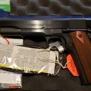 Colt 1911 gov classic blued 70series O1911C 45acp