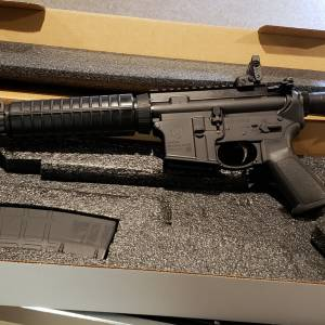 "Ruger AR556 black 16"" 8500 5.56mm"