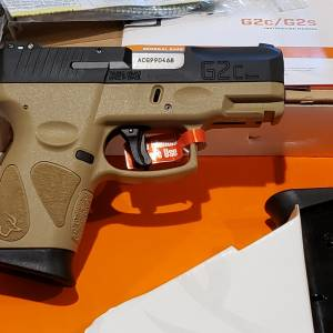Taurus G2C Tan 9mm 1-G2C931-12T