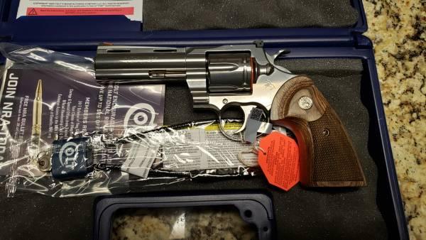 "Colt Python 4"" 357mag PYTHON-SP4WTS"