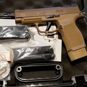 """Sig 365XL NRA 3.7"""" Coyote 365XL-9-COYXR3-NRA19 9mm"""