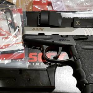 SCCY CPX2 Red Dot CPX-2TTRD 9mm