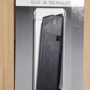 Glock 22/35 Gen4 magazine 15rd 40s&w MF22015