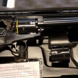 "Ruger Blackhawk Convertible 6.5"" 0318 357/9mm"