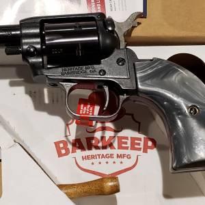 "Heritage Barkeep 2"" Gray Pearl BK22B2GPRL 22lr"