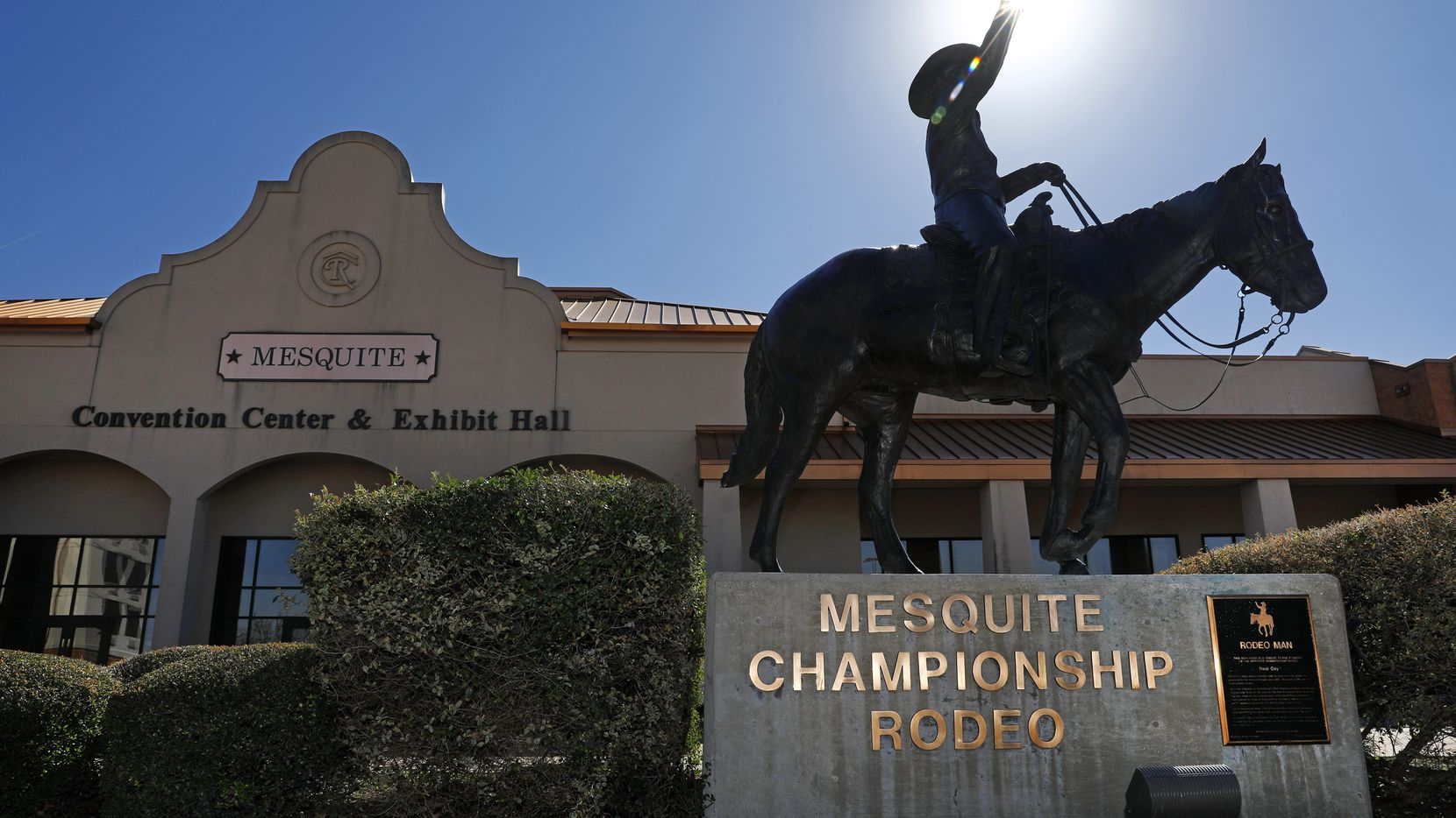 Mesquite rodeo convention center