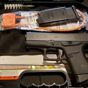 Glock 43 black 9mm UI4350201 (USA)