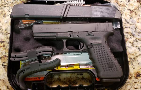 Glock 31 gen4 Black 357sig PG3150203