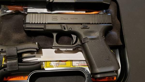 Glock 23 gen5 Black 40s&w PA235S203