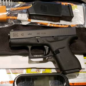 Glock 42 black 380auto UI4250201