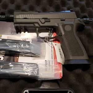 """Sig 320X Carry Legion 4.6"""" 9mm 320XCA-9-LEGION-TB-R2"""