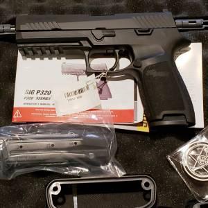 Sig 320 Full Texas Ranger Black 9mm 320F-9-BSS-FTRF