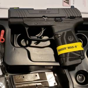 Ruger MAX9 3.2in black 3500 9mm