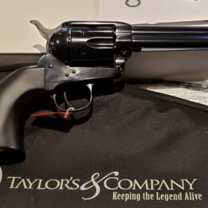 """Taylors/Uberti Devil Anse 4.75"""" black 555161 45lc"""