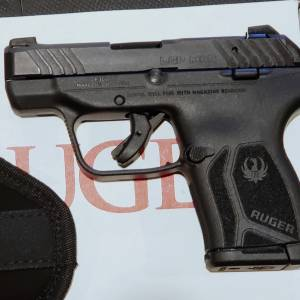 Ruger LCP-MAX 2.75in black 13716 380auto