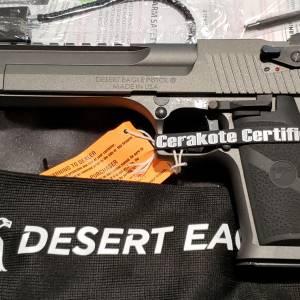 "Magnum Research Desert Eagle mk-XIX Gray 6"" 44mag DE44TU"