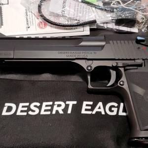 """Magnum Research Desert Eagle mk-XIX Black 6"""" 357mag DE357"""