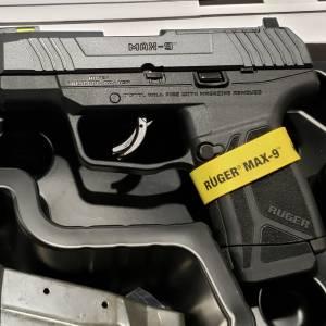 """Ruger MAX9 black 3.2"""" 9mm 3503"""