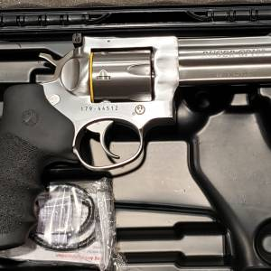 """Ruger GP100 Stainless 4"""" 357mag 1705"""