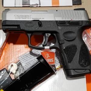 """Taurus g2S Bitone 3.25"""" 9mm 1-G2S939"""