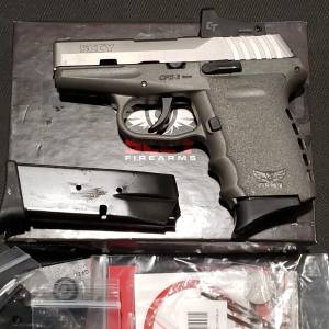 SCCY CPX2 Gray/SS Red Dot 9mm CPX2-TTSGRD