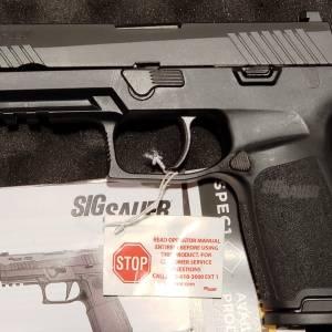 "Sig 320 Full 4.7"" black 320F-9-B 9mm"
