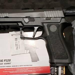 """Sig 320X Full 4.7"""" Black 9mm 320XF-9-BXR3-R2"""